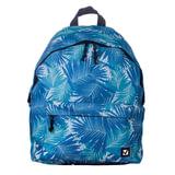 Рюкзак BRAUBERG универсальный, сити-формат, синий, «Пальмы», 20 литров, 41×32×14 см