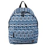 Рюкзак BRAUBERG (БРАУБЕРГ) универсальный, сити-формат, синий коттон, «Исландия», 23 литра, 43×34×15 cм