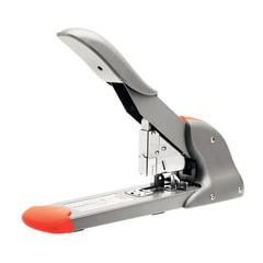 Степлер RAPID Fashion HD210 (Швеция), мощный, №23/<wbr/>8 — 23/<wbr/>24, до 210 листов, серебристый/<wbr/>оранжевый