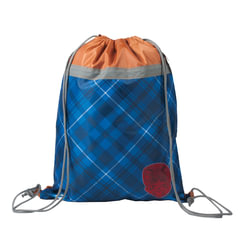 """Сумка для обуви BRAUBERG для учениц начальной школы, плотная, """"Кембридж, коричневая, 45×35 см"""