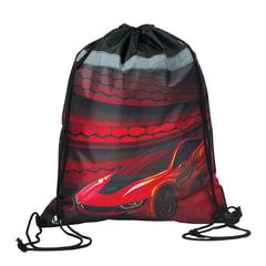 Сумка для обуви BRAUBERG для учеников начальной школы, плотная, «Красная фурия», 45×35 см