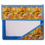 Папка для тетрадей А5, пластиковая на липучке, с рисунком на уголке, «Кемпинг»