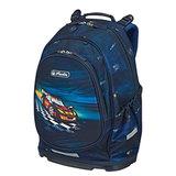 Рюкзак HERLITZ, с ортопедической спинкой, для учеников средней школы, «Super Racer», 16 л, 18×30×43 см