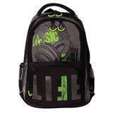 Рюкзак GRIZZLY для старшеклассников/<wbr/>студентов/<wbr/>молодежи, «Фанат», 22 литра, 32×42×20 см