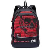 Рюкзак GRIZZLY для старшеклассников/<wbr/>студентов/<wbr/>молодежи, «Череп», 28 литров, 32×45×23 см