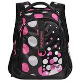 Рюкзак GRIZZLY для учениц средней школы, «Горохи», 27 литров, 31×42×20 см