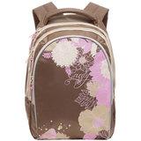 Рюкзак GRIZZLY для учениц начальной школы, «Букет», 25 литров, 28×41×20 см