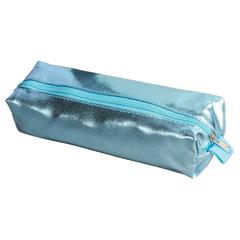 Пенал-косметичка BRAUBERG под искусственную кожу, «Винтаж», голубой, 20×6×4 см