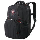 Рюкзак WENGER (Швейцария), универсальный, черный, 35 литров, 47×36×21 см