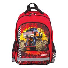 Рюкзак ПИФАГОР для учеников начальной школы, «Фаертрак», 38×28×14 см