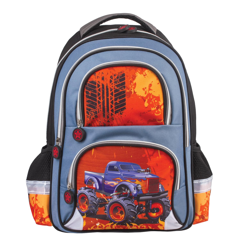 ba628db5f899 Рюкзак BRAUBERG, с EVA спинкой, для учеников начальной школы,  «Монстр- ...