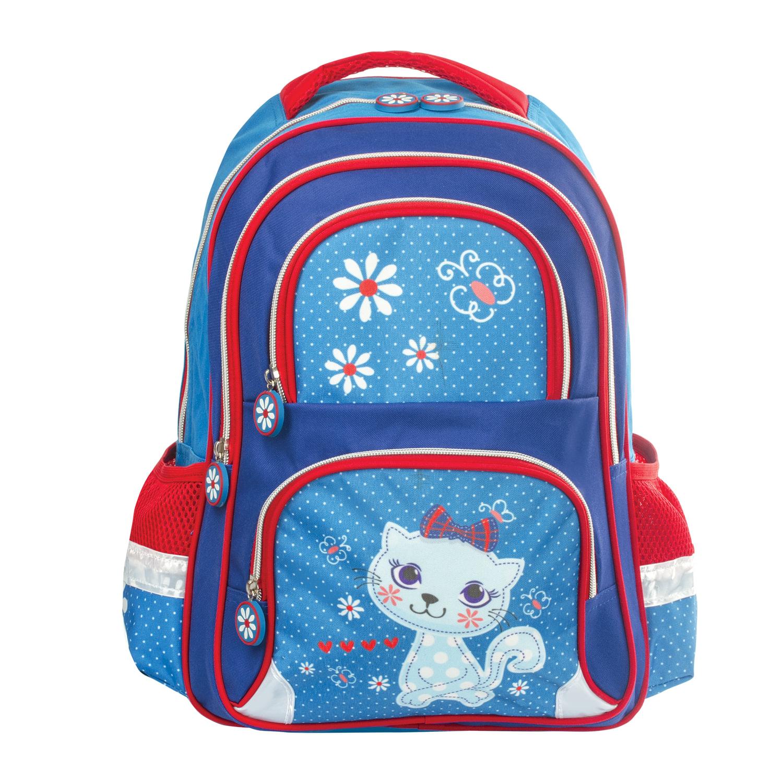 a9b2e6f1c18f Рюкзак BRAUBERG с EVA спинкой, для учениц начальной школы,  «Китти», ...