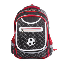 Рюкзак BRAUBERG для учеников начальной школы, «стеганый», «Мяч», 40×29×17 см