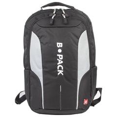 Рюкзак B-PACK «S-04» (БИ-ПАК) универсальный, с отделением для ноутбука, влагостойкий, черный, 45×29×16 см
