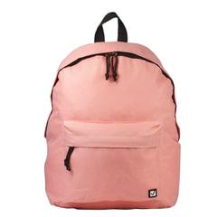 Рюкзак BRAUBERG универсальный, сити-формат, персиковый, 38×28×12 см