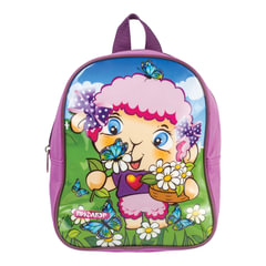 Рюкзак ПИФАГОР для дошкольниц, глянец, «Долли», 25×20×10 см