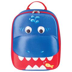 Рюкзак детский BRAUBERG с термоизоляцией, 1 отделение, для мальчиков, «Акула», 29×23×9 см