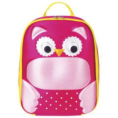 Рюкзак детский BRAUBERG с термоизоляцией, 1 отделение, для девочек, «Сова», 29×23×9 см