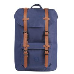 Рюкзак BRAUBERG молодежный с отделением для ноутбука, «Кантри», синий, 41×28×14 см