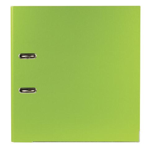 Папка-регистратор ESSELTE, 80 мм, А4+, VIVIDA Plus, с двухсторонним покрытием из полипропилена, зеленая