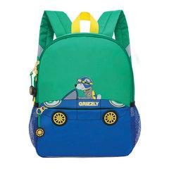 Рюкзак GRIZZLY для дошкольников, «Гонщик», 8 литров, 33×26×11 см