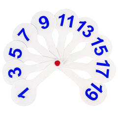 Веер-касса (цифры от 1 до 20) ПИФАГОР