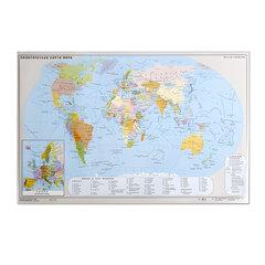 Коврик-подкладка настольный для письма, с картой мира, 380×590 мм, «ДПС»