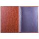 Папка «Меню» с 10 файлами, 220×320 мм, коричневая, «ДПС»