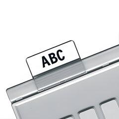 Картотечные индексные окна HAN (Германия), комплект 10 шт., для разделителей А4, А5, А6, прозрачные