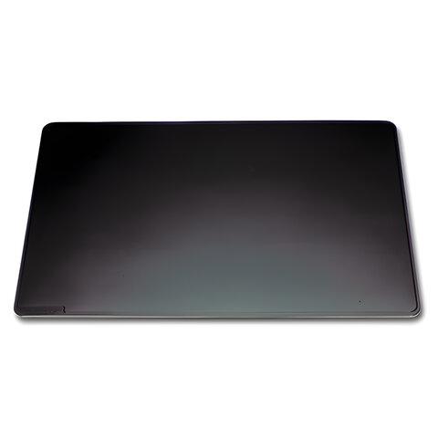 Коврик-подкладка настольный для письма DURABLE (Германия), непрозрачный, 52×65см, черный