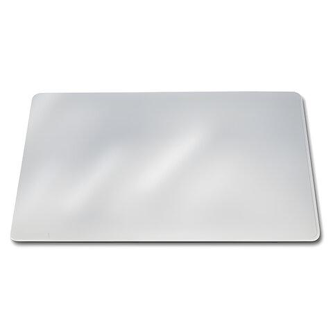 Коврик-подкладка настольный для письма DURABLE (Германия), прозрачный, «DURAGLAS», 50×65 см