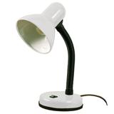 Светильник настольный МТ2077А на подставке, белый, высота 30 см, Е27