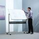 Доска магнитно-маркерная NOBO, 2-сторонняя, 120×150 см, передвижная, с керамическим покрытием (ACCO Brands, США)