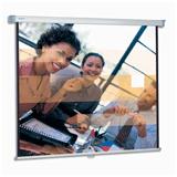 Экран проекционный PROJECTA (Нидерланды) SLIMSCREEN, матовый, настенный, 200×200 см, 1:1