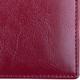 Визитница однорядная BRAUBERG «Imperial» (БРАУБЕРГ «Империал»), под гладкую кожу, на 20 визиток, бордовая
