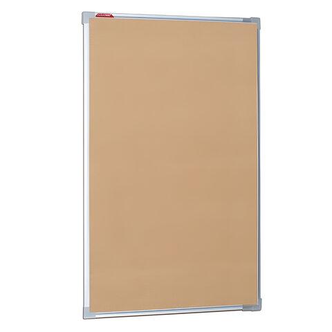 Доска пробковая BOARDSYS для объявлений, 100×60 см, металлическая рамка