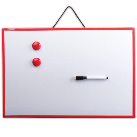 Доска магнитно-маркерная ПИФАГОР, 30×45 см, ГАРАНТИЯ 10 ЛЕТ