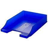 Лоток горизонтальный для бумаг BRAUBERG «Energy» (БРАУБЕРГ «Энерджи»), тонированный синий