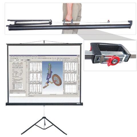 Экран проекционный LUMIEN MASTER VIEW, матовый, на треноге, 180×180 см, 1:1