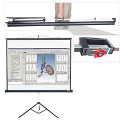 Экран проекционный LUMIEN MASTER VIEW, матовый, на треноге, 153×203 см, 4:3