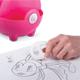 Канцелярский детский набор BRAUBERG (БРАУБЕРГ) «Пигги», в форме поросенка, 4 предмета, ассорти, блистер