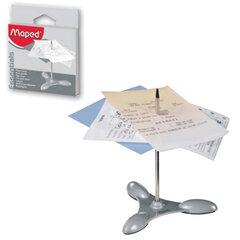 Игла для чеков/<wbr/>заметок MAPED (Франция), металлическая основа, упаковка с европодвесом