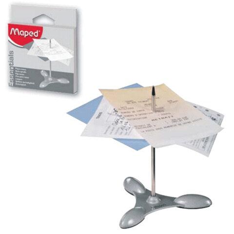 Игла для чеков/заметок MAPED (Франция), металлическая основа, упаковка с европодвесом