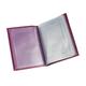 Бумажник водителя BEFLER «Изящная кошка», натуральная кожа, тиснение, 6 пластиковых карманов, фиолетовый