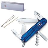 Подарочный нож VICTORINOX «Spartan», 91 мм, складной, синий, 12 функций