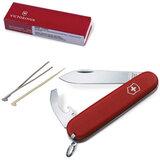 Подарочный нож VICTORINOX «Ecoline», 84 мм, складной, матовый красный, 8 функций