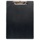 Доска-планшет BRAUBERG «NUMBER ONE A4» (БРАУБЕРГ «Номер один A4»), с верхним прижимом, А4, 22,8×31,8 см, картон/<wbr/>ПВХ, черная