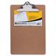 Доска-планшет BRAUBERG «Eco» (БРАУБЕРГ «Эко»), с верхним прижимом бабочка, А4, 22,8×32,5 см, МДФ, 3 мм