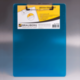 Доска-планшет BRAUBERG «Energy» (БРАУБЕРГ «Энерджи»), с верхним прижимом, А4, 22,6×31,5 см, пластик, 2 мм, синяя