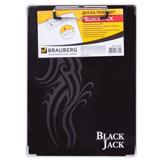 �����-������� BRAUBERG «Black Jack» (�������� «���� ����»), � ������� ��������, �4, 22,6×31,5 ��, ������/<wbr/>�������������� ������